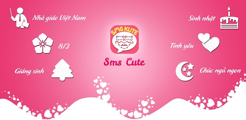 SMS Kute - tin nhắn tình yêu siêu đáng yêu