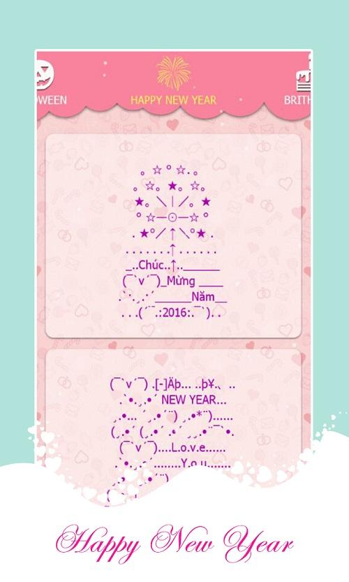 SMS Kute - tin nhắn tình yêu chú mừng năm mới