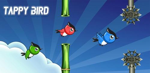 Giao diện đẹp mắt của Flappy bird phiên bản mới.