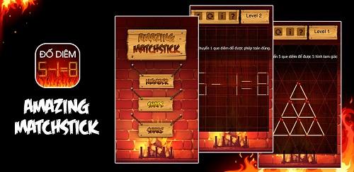 Giao diện trong phiên bản game xếp hình mới.