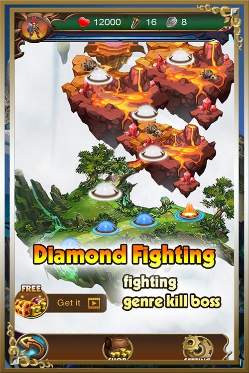 Các cấp Level của Kim cương offline.