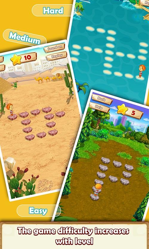 Các level trong game tìm đường về nhad 2016.
