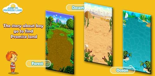 Chinh phục miền đất hứa trong game tìm đường về nhà.