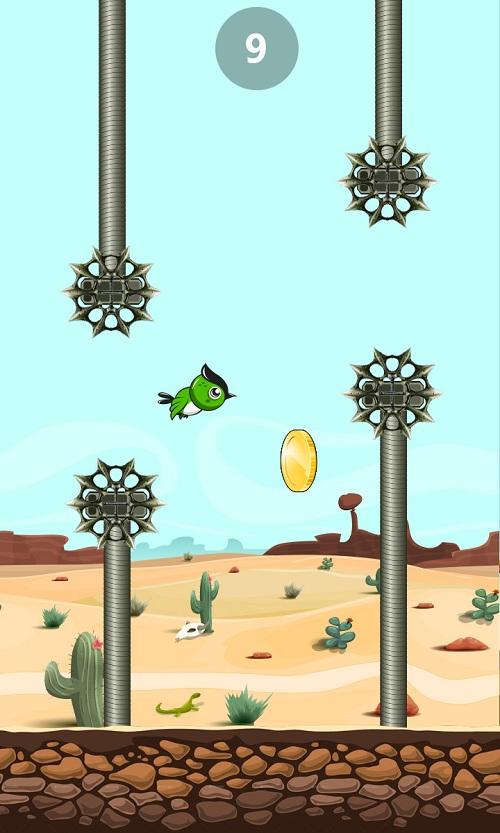 Thử thách cùng Flappy bird phiên bản mới 2016