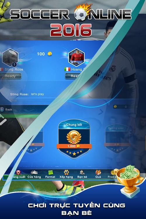 Chia sẻ đam mê cùng game Bóng đá online.