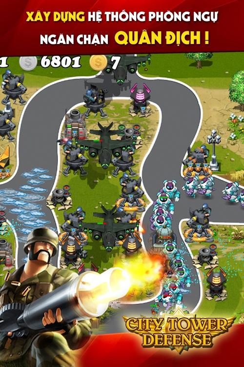 Phòng ngự trong game chiến thuật Thủ Thành.