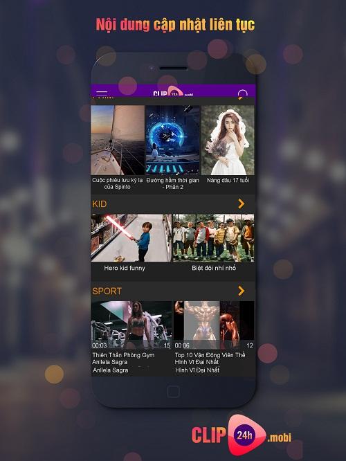nội dung ứng dụng xem phim online