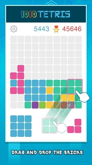 Cách chơi game xếp hình 1010!