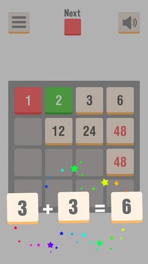 Luật chơi trong game 2048 phiên bản mới.